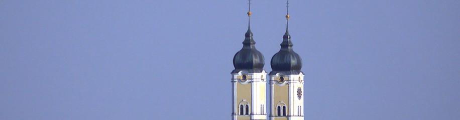 Tuerme der Klosterkirche Roggenburg, 2015