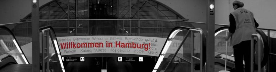 Willkommen in Hamburg - Airport, Dezember 2015