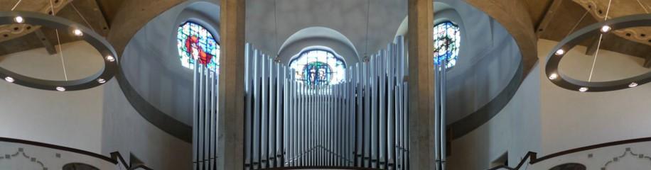 Orgelempore, Pauluskirche, Juni 2016