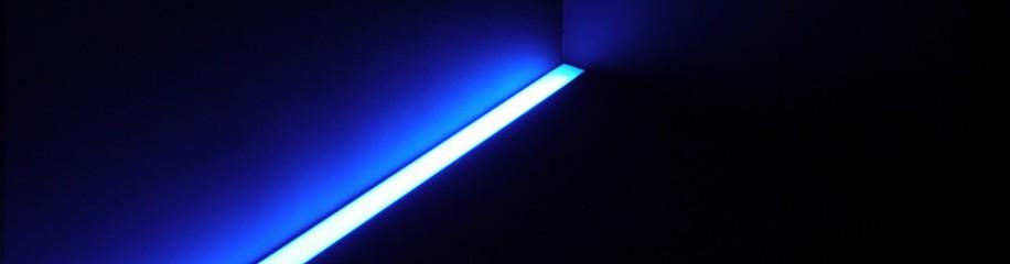 Lichtband am Boden