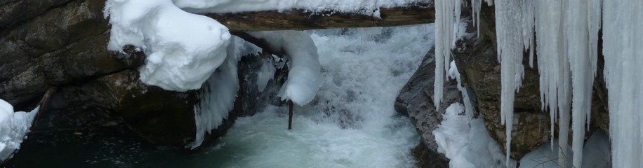 Winter in der Breitachklamm, Februar 2019